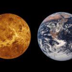 Сравнение размера Венеры и Земли