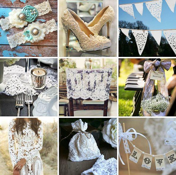 Кружевная или Ландышевая свадьба