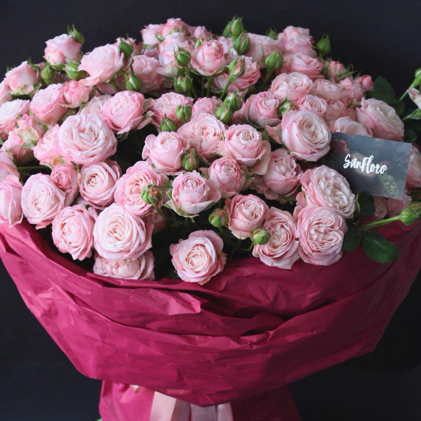 Картинки с днем рождения цветы охапки