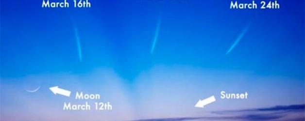Неземная красавица, комета Панстаррс полетает сквозь Солнечную систему